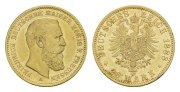PREUSSEN. 20 Mark Friedrich III., 1888.