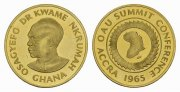 Ghana. 2 Pounds, (Specimen), 1965. Vorzgl...