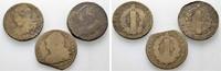 2 Sols (3 Stück) 1792, 1793. FRANKREICH Louis XVI, 1774-1793. Schön und... 80,00 EUR  zzgl. 4,50 EUR Versand