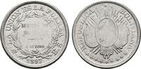 50 Centavos 1897, ES. BOLIVIEN Republik. Etwas schwach geprägt., Vorzüg... 22,00 EUR  zzgl. 4,50 EUR Versand