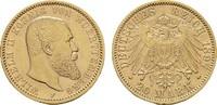 20 Mark 1897, F. Württemberg Wilhelm II., 1891-1918. Fast Vorzüglich  /... 380,00 EUR  zzgl. 4,50 EUR Versand