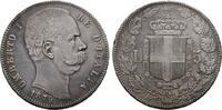 5 Lire 1879, Rom. ITALIEN Umberto I., 1878-1900. Leichte, feine Patina,... 425,00 EUR  zzgl. 4,50 EUR Versand