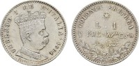 Lira 1891, Rom. ITALIEN Umberto I., 1878-1900. Fast Stempelglanz/Stempe... 390,00 EUR  zzgl. 4,50 EUR Versand