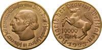 10.000 Mark 1923. STAATLICHE NOTMÜNZEN  Fast Stempelglanz.  30,00 EUR  zzgl. 4,50 EUR Versand