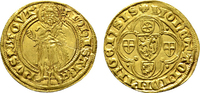 Goldgulden o.J.(1399-1402), Bingen. MAINZ ...