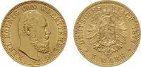 5 Mark 1877, F. Württemberg Karl, 1864-1891. Vorzüglich.  625,00 EUR kostenloser Versand