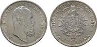 2 Mark 1888, F. Württemberg Karl, 1864-1891. Stempelglanz.  1250,00 EUR kostenloser Versand