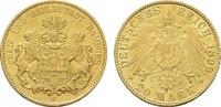 20 Mark 1899, J. Hamburg Freie und Hansestadt. Vorzüglich +.  345,00 EUR  zzgl. 4,50 EUR Versand