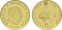 1.500 Kronen 1992, Kongsberg. NORWEGEN Harald V. seit 1991. Polierte Pl... 750,00 EUR kostenloser Versand