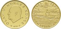 1.500 Kronen 1991, Kongsberg. NORWEGEN Harald V. seit 1991. Polierte Pl... 750,00 EUR kostenloser Versand