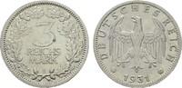 3 Reichsmark 1931, E. WEIMARER REPUBLIK  V...