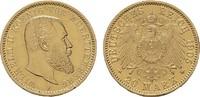 20 Mark 1905, F. Württemberg Wilhelm II., 1891-1918. Vorzüglich.  395,00 EUR  zzgl. 4,50 EUR Versand