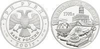 3 Rubel 2001. RUSSLAND  Polierte Platte  85,00 EUR  zzgl. 4,50 EUR Versand