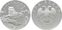 3 Rubel 2000. RUSSLAND  Polierte Platte  245,00 EUR  zzgl. 4,50 EUR Versand