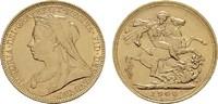 Sovereign - Jahr nach unserer Wahl.  GROSSBRITANNIEN Victoria, 1837-190... 307,21 EUR  zzgl. 4,50 EUR Versand