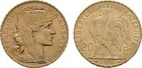 20 Francs - Jahr nach unserer Wahl. Marianne . FRANKREICH 3. Republik, ... 236,13 EUR  zzgl. 4,50 EUR Versand