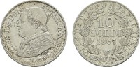 10 Soldi 1867 Anno XXII. ITALIEN Pius IX., 1846-1878. Vorzüglich-stempe... 45,00 EUR  zzgl. 4,50 EUR Versand