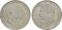 Doppeltaler 1846. WÜRTTEMBERG Wilhelm I., 1816-1864. Fast Stempelglanz ... 590,00 EUR kostenloser Versand