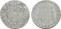 1/6 Taler 1754. KÖLN Klemens August von Bayern, 1723-1761. Sehr schön  85,00 EUR  zzgl. 4,50 EUR Versand