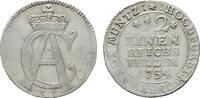 1/12 Taler 1754 IK. MÜNSTER Clemens August von Bayern, 1719-1761. Fast ... 35,00 EUR  zzgl. 4,50 EUR Versand