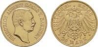 20 Mark 1905 E Sachsen Friedrich August III., 1904-1918. Vorzüglich -St... 660,00 EUR kostenloser Versand