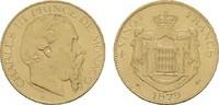 20 Francs 1879 MONACO Charles III., 1856-1889. Fast vorzüglich  420,00 EUR  zzgl. 4,50 EUR Versand