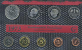 Kursmünzensatz 1973, G. BUNDESREPUBLIK DEUTSCHLAND  Stempelglanz  42,00 EUR  plus 7,00 EUR verzending