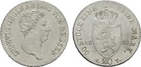 20 Kreuzer 1808, Darmstadt. HESSEN Ludwig I., 1806-1830. Vorzüglich -St... 240,00 EUR  zzgl. 4,50 EUR Versand