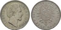 5 Mark 1874, D. Bayern Ludwig II., 1864-1886. Hübsche Pastina. Fast Vor... 145,00 EUR  zzgl. 4,50 EUR Versand