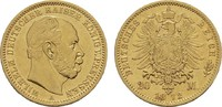 20 Mark 1872, A, Berlin. Preussen Wilhelm I., 1861-1888. Vorzüglich  335,00 EUR  zzgl. 4,50 EUR Versand