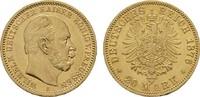 20 Mark 1876, A, Berlin. Preussen Wilhelm I., 1861-1888. Vorzüglich -St... 370,00 EUR  plus 7,00 EUR verzending