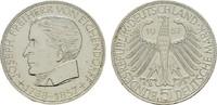 5 DM 1957, J. BUNDESREPUBLIK DEUTSCHLAND  Vorzüglich  150,00 EUR  zzgl. 4,50 EUR Versand