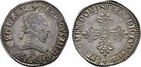 Franc d´argent 1586 A -Paris. FRANKREICH Henri III, 1574-1589. Vorzügli... 1750,00 EUR kostenloser Versand