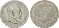 Rubel 1892, St. Petersburg. RUSSLAND Alexander III., 1881-1894. Sehr sc... 150,00 EUR  zzgl. 4,50 EUR Versand