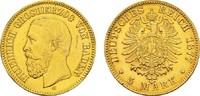 5 Mark 1877, G. Baden Friedrich I., 1852-1907. Sehr schön  550,00 EUR kostenloser Versand