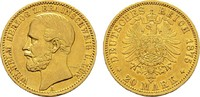 20 Mark 1875 A Braunschweig Wilhelm, 1830-1884. Sehr schön-vorzüglich  1500,00 EUR kostenloser Versand