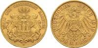 20 Mark 1913 J Hamburg Freie und Hansestadt. Vorzüglich  320,00 EUR  zzgl. 4,50 EUR Versand
