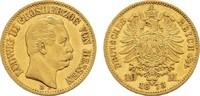 10 Mark 1873 H Hessen Ludwig III., 1848-1877. Sehr schön +  375,00 EUR  zzgl. 4,50 EUR Versand