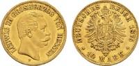 10 Mark 1875 H Hessen Ludwig III., 1848-1877. Sehr schön +  350,00 EUR  zzgl. 4,50 EUR Versand