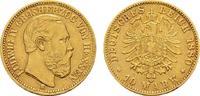 10 Mark 1880 H Hessen Ludwig IV., 1877-1892. Sehr schön  550,00 EUR kostenloser Versand