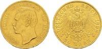 20 Mark 1898 A Hessen Ernst Ludwig, 1892-1918. Sehr schön  440,00 EUR  zzgl. 4,50 EUR Versand