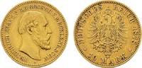 10 Mark 1878 A Mecklenburg-Schwerin Friedrich Franz II., 1842-1883. Seh... 2100,00 EUR kostenloser Versand