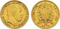 20 Mark 1872 C Preussen Wilhelm I., 1861-1888. Fast Vorzüglich  310,00 EUR  zzgl. 4,50 EUR Versand