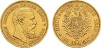 10 Mark 1888 A Preussen Friedrich III., 1888. Vorzüglich +  190,00 EUR  zzgl. 4,50 EUR Versand