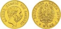 5 Mark 1877 E Sachsen Albert, 1873-1902. Sehr schön-vorzüglich  550,00 EUR kostenloser Versand