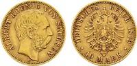 10 Mark 1879 E Sachsen Albert, 1873-1902. Sehr schön  270,00 EUR  zzgl. 4,50 EUR Versand