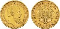 20 Mark 1874 F Württemberg Karl, 1864-1891. Sehr schön +  385,00 EUR  zzgl. 4,50 EUR Versand
