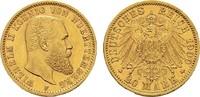 20 Mark 1900 F Württemberg Wilhelm II., 1891-1918. Vorzüglich  375,00 EUR  zzgl. 4,50 EUR Versand