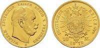 10 Mark 1872 B Preussen Wilhelm I., 1861-1888. Sehr schön-vorzüglich  235,00 EUR  zzgl. 4,50 EUR Versand