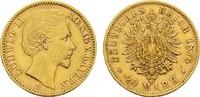 20 Mark 1876 D Bayern Ludwig II., 1864-1886. Sehr schön +  340,00 EUR  zzgl. 4,50 EUR Versand